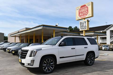 2016 Cadillac Escalade for sale at Houston Used Auto Sales in Houston TX