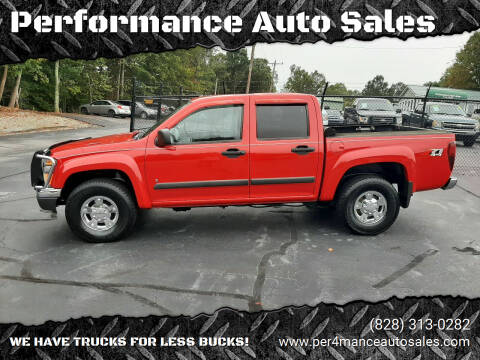 2008 Chevrolet Colorado for sale at Performance Auto Sales in Hickory NC