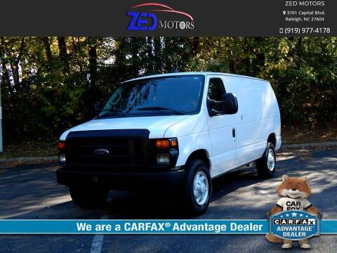2010 Ford E-Series Cargo for sale at Zed Motors in Raleigh NC