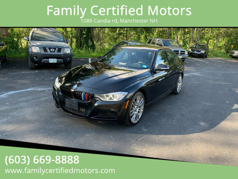 2014 BMW 3 Series for sale at Family Certified Motors in Manchester NH