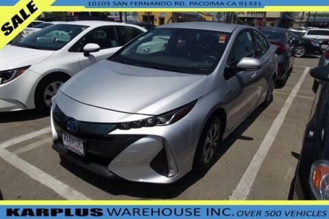 2017 Toyota Prius Prime for sale at Karplus Warehouse in Pacoima CA