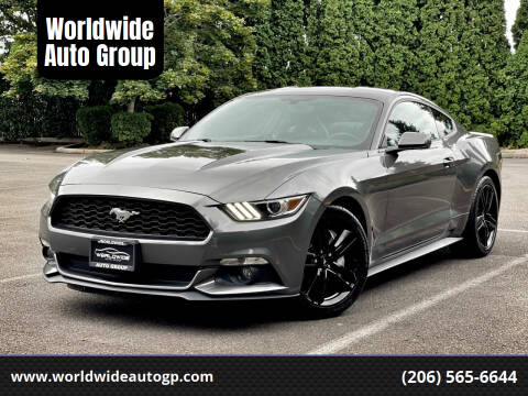 2015 Ford Mustang for sale at Worldwide Auto Group in Auburn WA