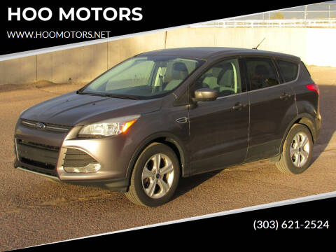 2014 Ford Escape for sale at HOO MOTORS in Kiowa CO