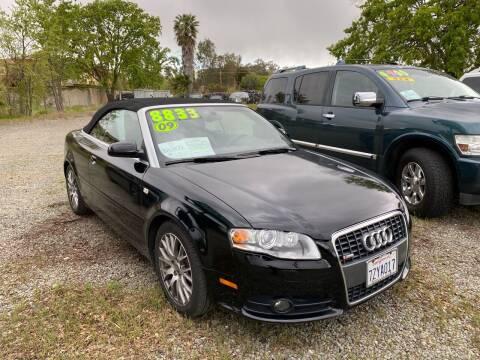 2009 Audi A4 for sale at Quintero's Auto Sales in Vacaville CA