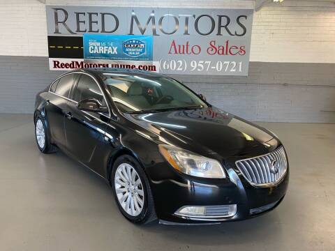 2011 Buick Regal for sale at REED MOTORS LLC in Phoenix AZ