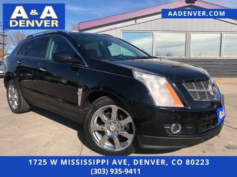 2010 Cadillac SRX for sale at A & A AUTO LLC in Denver CO