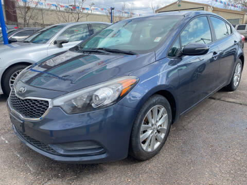 2016 Kia Forte for sale at Nations Auto Inc. II in Denver CO