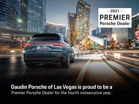 2015 Porsche Cayman for sale at Gaudin Porsche in Las Vegas NV