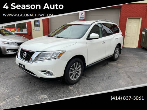 2015 Nissan Pathfinder for sale at 4 Season Auto in Milwaukee WI