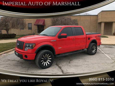 2012 Ford F-150 for sale at Imperial Auto of Marshall - Imperial Auto Of Slater in Slater MO