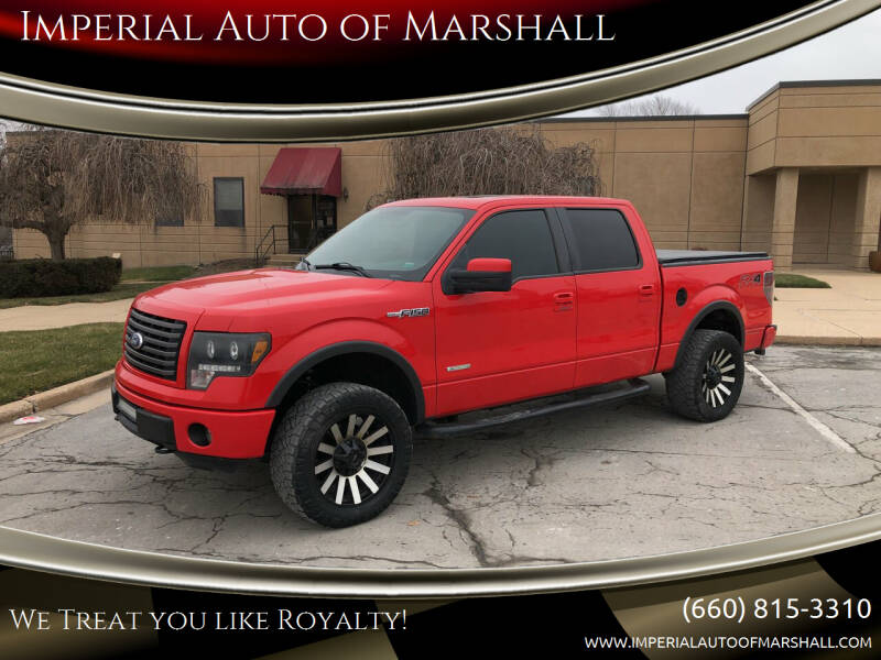 2012 Ford F-150 for sale at Imperial Auto of Slater in Slater MO