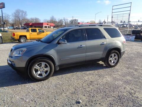 2008 GMC Acadia for sale at Rod's Auto Farm & Ranch in Houston MO