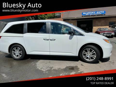 2012 Honda Odyssey for sale at Bluesky Auto in Bound Brook NJ