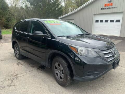 2014 Honda CR-V for sale at SMS Motorsports LLC in Cortland NY