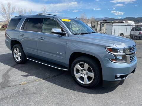 2016 Chevrolet Tahoe for sale at Salida Auto Sales in Salida CO