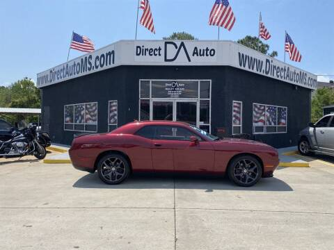 2017 Dodge Challenger for sale at Direct Auto in D'Iberville MS