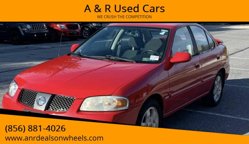 2006 Nissan Sentra for sale at A & R Used Cars in Clayton NJ
