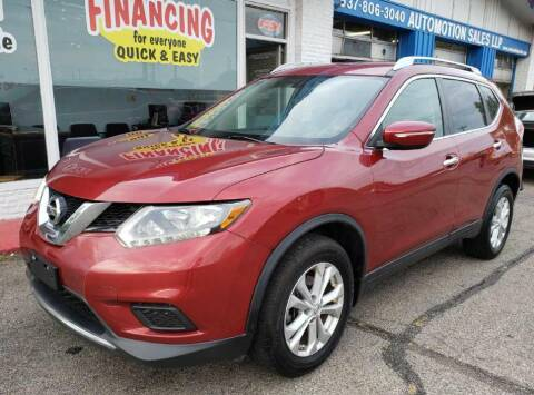 2014 Nissan Rogue for sale at AutoMotion Sales in Franklin OH