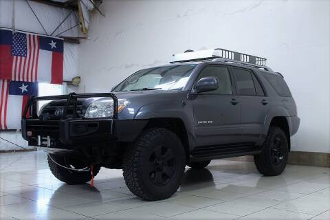 2003 Toyota 4Runner for sale at ROADSTERS AUTO in Houston TX
