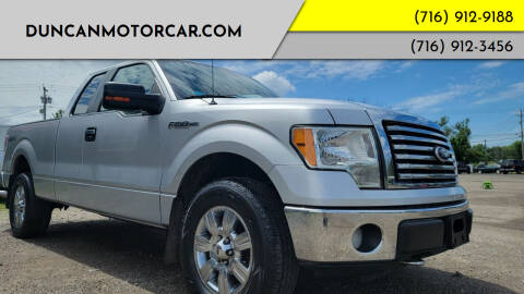 2010 Ford F-150 for sale at DuncanMotorcar.com in Buffalo NY