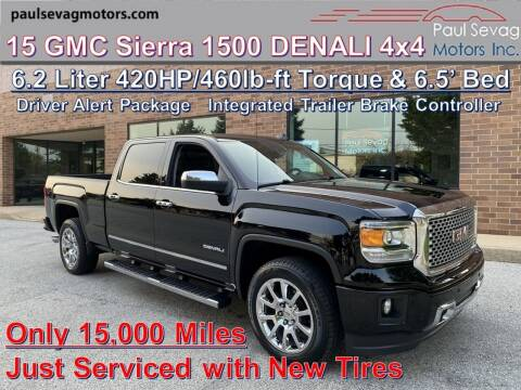2015 GMC Sierra 1500 for sale at Paul Sevag Motors Inc in West Chester PA