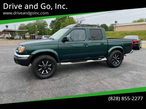 2000 Nissan Frontier for sale at Drive and Go, Inc. in Hickory NC