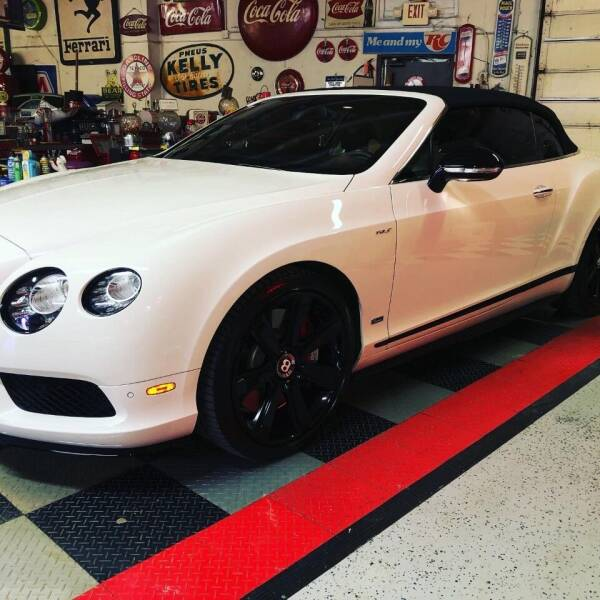 2015 Bentley Continental for sale at Berliner Classic Motorcars Inc in Dania Beach FL