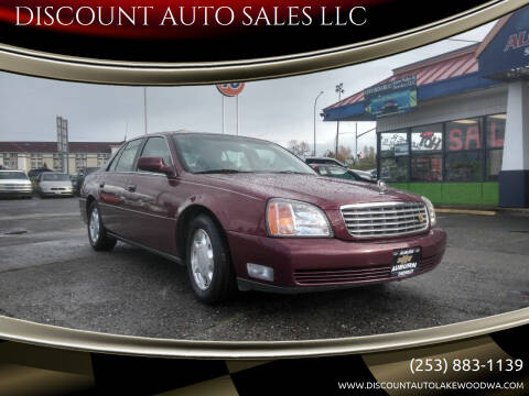 2000 Cadillac DeVille for sale at DISCOUNT AUTO SALES LLC in Spanaway WA
