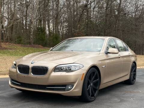 2011 BMW 5 Series for sale at Top Notch Luxury Motors in Decatur GA