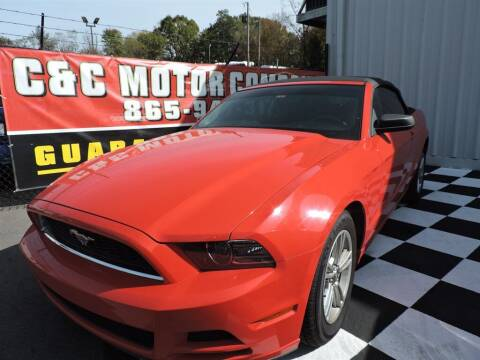 2013 Ford Mustang for sale at C & C Motor Co. in Knoxville TN