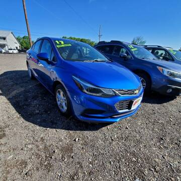 2017 Chevrolet Cruze for sale at ALL WHEELS DRIVEN in Wellsboro PA