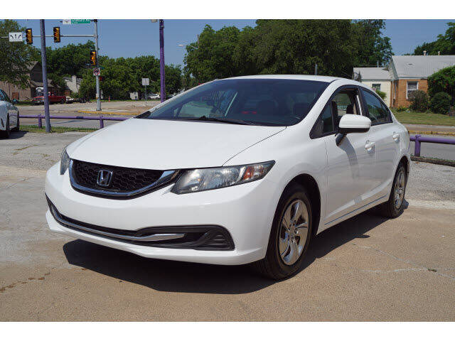 2015 Honda Civic for sale at Watson Auto Group in Fort Worth TX