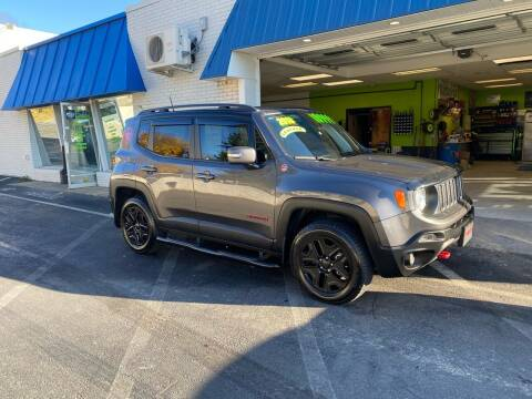 2018 Jeep Renegade for sale at Ginters Auto Sales in Camp Hill PA