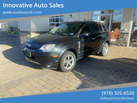 2012 Chevrolet Captiva Sport for sale at Innovative Auto Sales in North Hampton NH