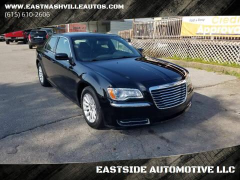 2013 Chrysler 300 for sale at EASTSIDE AUTOMOTIVE LLC in Nashville TN