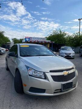 2013 Chevrolet Cruze for sale at Centerpoint Motor Cars in San Antonio TX