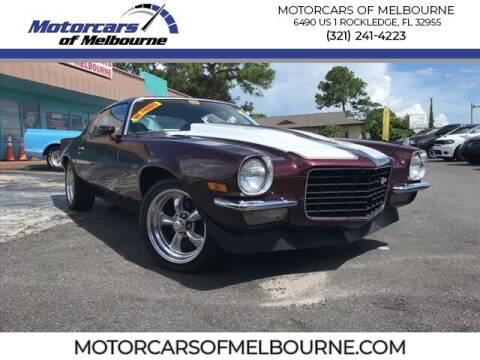 1973 Chevrolet Camaro for sale at Motorcars of Melbourne in Rockledge FL