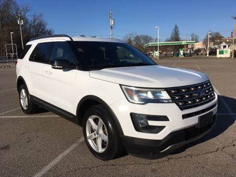 2016 Ford Explorer for sale at Borderline Auto Sales in Loveland OH