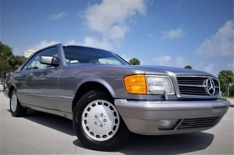 1988 Mercedes-Benz 560-Class for sale at Progressive Motors in Pompano Beach FL