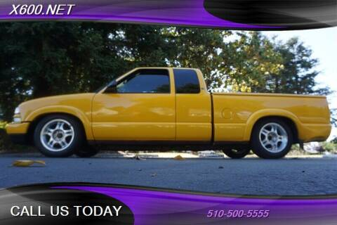 2003 Chevrolet S-10 for sale at The Dealer in Fremont CA