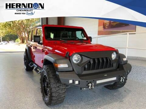 2018 Jeep Wrangler Unlimited for sale at Herndon Chevrolet in Lexington SC