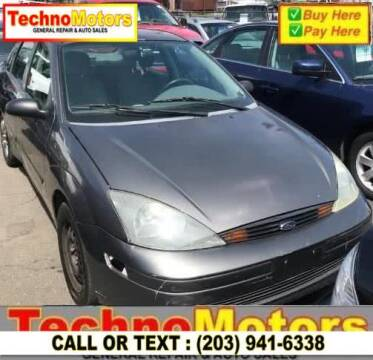 2004 Ford Focus for sale at Techno Motors in Danbury CT