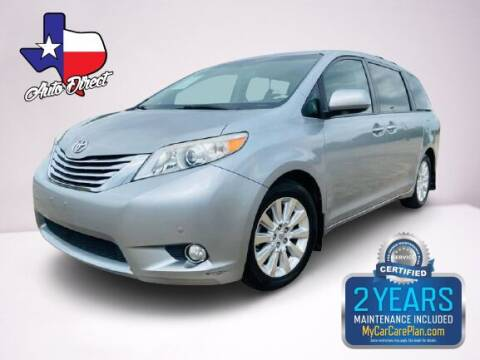 2011 Toyota Sienna for sale at AUTO DIRECT Bellaire in Houston TX