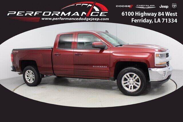 2016 Chevrolet Silverado 1500 for sale at Auto Group South - Performance Dodge Chrysler Jeep in Ferriday LA