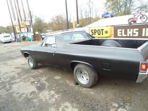 1970 Chevrolet El Camino for sale at Marshall Motors Classics in Jackson Michigan MI