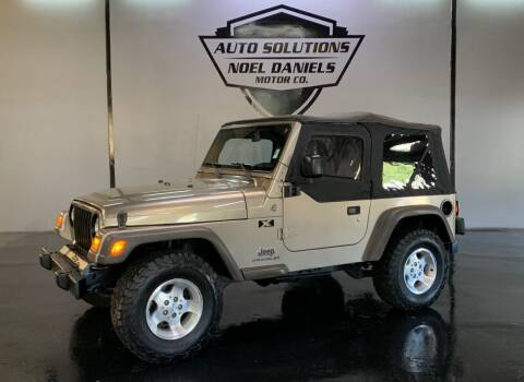 2006 Jeep Wrangler for sale at Noel Daniels Motor Company in Ridgeland MS