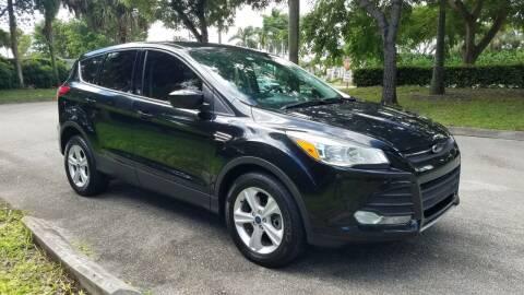 2015 Ford Escape for sale at DELRAY AUTO MALL in Delray Beach FL