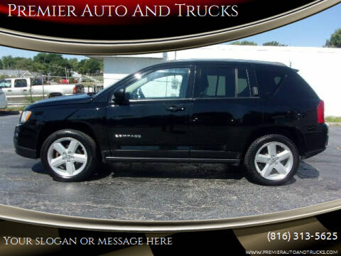 2012 Jeep Compass for sale at Premier Auto And Trucks in Independence MO