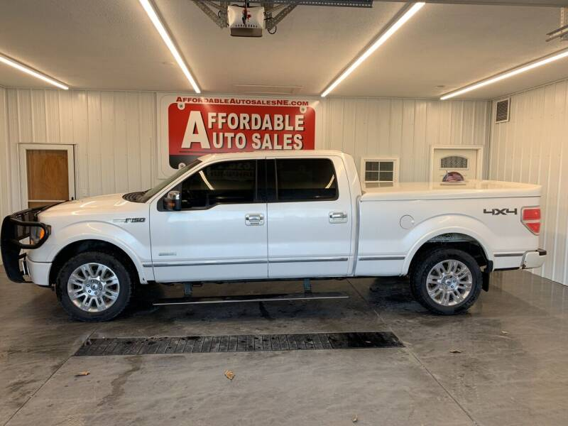 2011 Ford F-150 for sale at Affordable Auto Sales in Humphrey NE