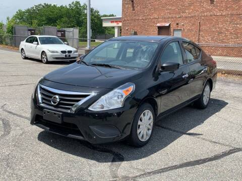 2016 Nissan Versa for sale at Ludlow Auto Sales in Ludlow MA
